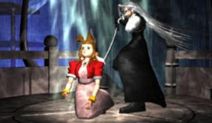 Noooo, Sephiroth. She was my best healer.