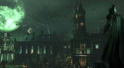 Arkham isn't the biggest open world out there, but it's one of the moodiest.