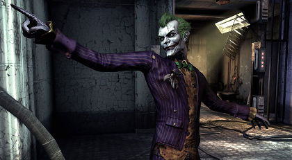 The Joker is a brilliantly corny antagonist.