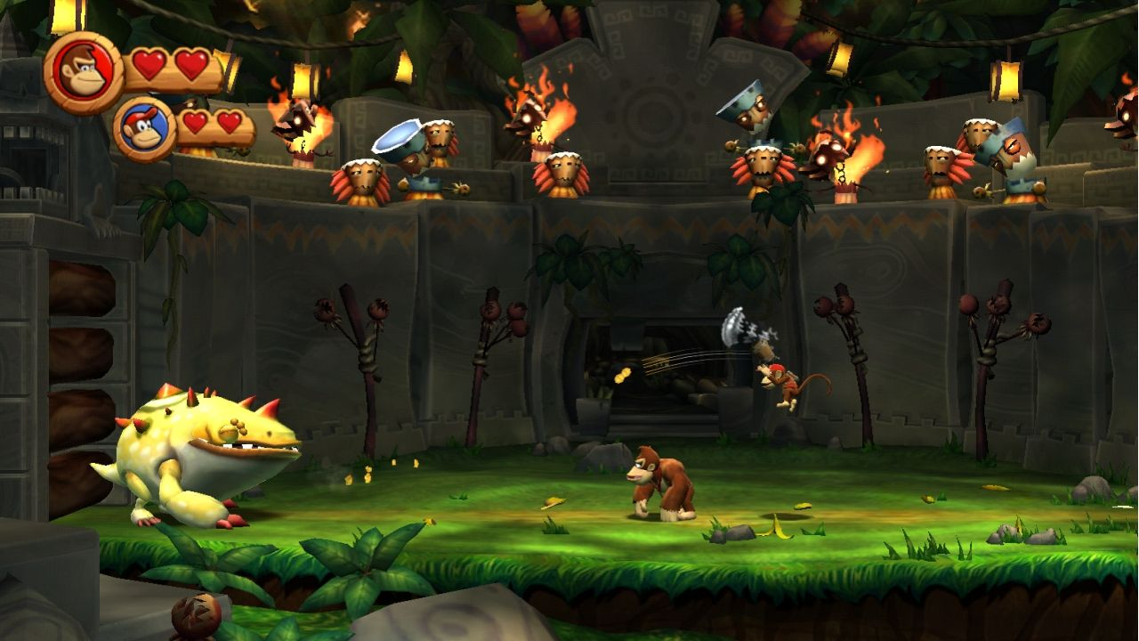 Donkey Kong Country Returns Review Video Games Daily - Country games