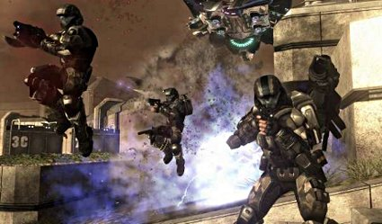 Halo-jumping: officially the campest thing you can do while holding a gun.