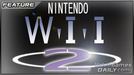 Nintendo Wii 2 logo half heartedly portrayed in the style of the Ultra 64 logo