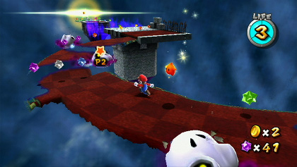 Second players can still help their partners gather Star Bits, but now they get to stun enemies as well.